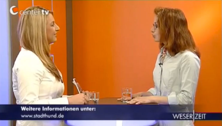 Chiara Carcagni Stadthund Interview mit Center TV