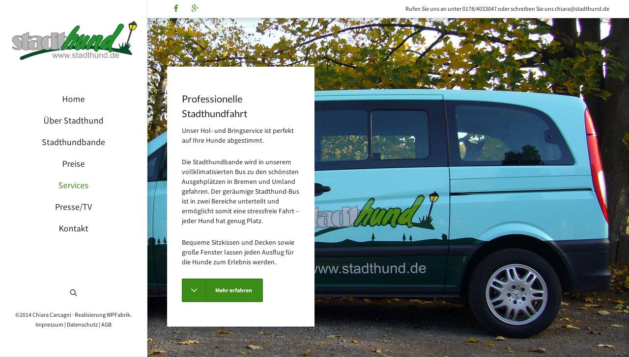 Stadthund Service